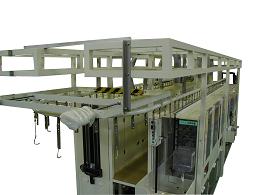 悬挂式显影装置