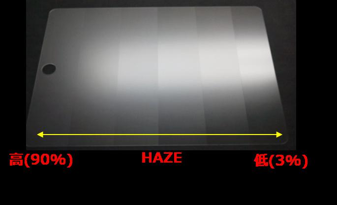 玻璃表面浊度(朦胧度)『HAZE』